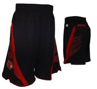Adidas Louisville Cardinals Youth Replica 2012 2013 Basketball Shorts (Large (14/16))  Sports Fan Jerseys  Sports & Outdoors