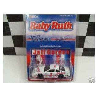 1992 Limited Edition Jeff Gordon #1 Baby Ruth Ford Thunderbird 1/64 Scale Diecast Monte Carlo Action Racing Collectables Toys & Games