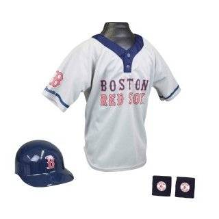 Boston Red Sox Baseball Helmet and Jersey Set   Infant And Toddler Sports Fan Apparel