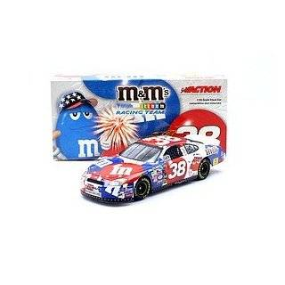 Action 1/24 Elliott Sadler #38 M&M's/4th of July 2004 Ford Taurus Toys & Games