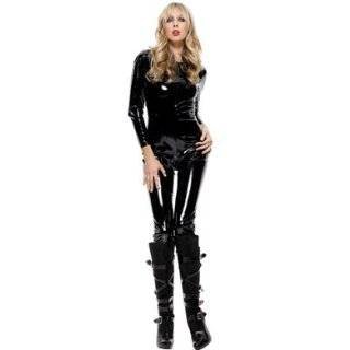 Catwoman Suit Sexy Holiday Party Costume(large red) Clothing