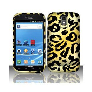 Yellow Cheetah Hard Cover Case for Samsung Galaxy S2 S II T Mobile T989 SGH T989 Hercules Cell Phones & Accessories