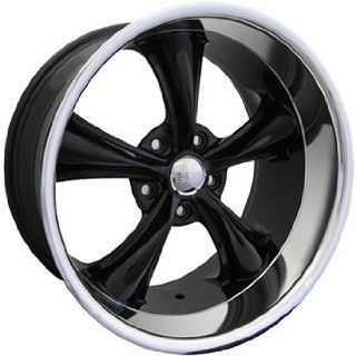 Boss 338 18 Black Wheel / Rim 5x4.75 with a  4mm Offset and a 82.80 Hub Bore. Partnumber 33829934 Automotive