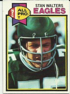 1979 Topps Stan Walters (Philadelphia Eagles) Football Trading Card #339