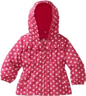 London Fog Baby girls Infant Anorak Jacket, Fuchsia, 12 Months Clothing