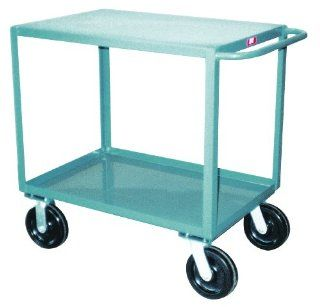 Jamco Products SD348 P8 GP 30 Inch by 48 Inch 4800 Pound Capacity Two Shelf Service Cart