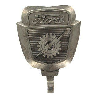Genuine FORD Emblem Logo Wall Coat Hat Key Hook 351 GT Shelby Cobra MAN CAVE Father's Day Gift