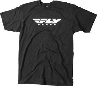 Fly Racing Fly Street Tee , Gender Mens/Unisex, Primary Color Black, Size Md 352 0360M Automotive
