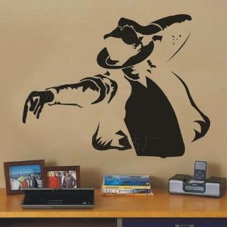 Song Dance Star Michael Jackson Classic Action Decal Wall Stickers Vinyl Wall Decor Living Room Bed Room Decals 354