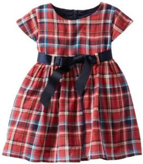 Bardot Junior Baby Girls Infant Tartan Dress Clothing