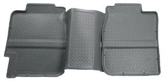 Husky Liners Custom Fit Second Seat Floor Liner for Select Chevrolet/GMC Models (Grey) Automotive