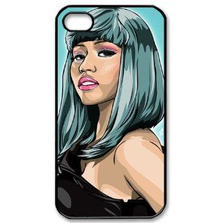 Popular singer Nicki Minaj protective case for iPhone 4/4s Cell Phones & Accessories