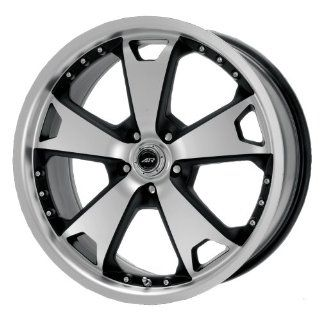 "American Racing TXM AR364 Matte Black Wheel with Machined Face and Lip (20x9""/5x115mm) Automotive"