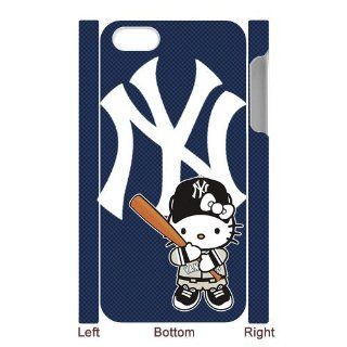 MLB New York Yankees iPhone 5 Case Special Hello Kitty Design iPhone 5 Case Cell Phones & Accessories