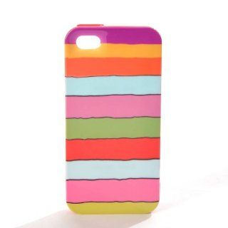 Kate Spade Candy Stripe iPhone 5 Hardshell Phone Case Cover