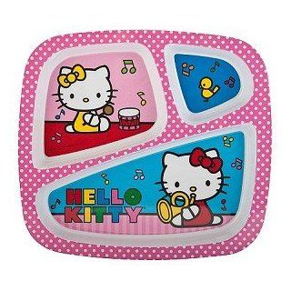 ZAK Hello Kitty 3 Section Divided Tray (Pack of 3) Health & Personal Care