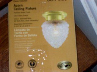 Hampton Bay Classic Collection Acorn Ceiling Fixture #384 961