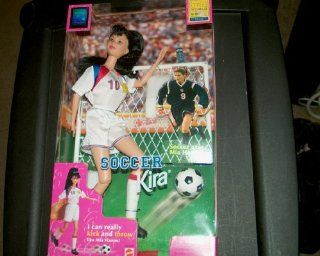 Soccer Kira Barbie 1998 Edition Womens World Cup FIFA Toys & Games