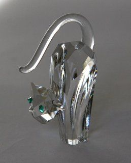Angry Cat, Preciosa Crystal Figurine   Collectible Figurines