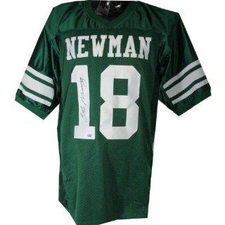 Steiner Sports Eli Manning Signed Newman High School Jersey Toys & Games