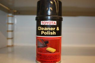 Genuine Toyota Fluid 00289 1CP00 Cleaner and Polish   12 oz. Can Automotive