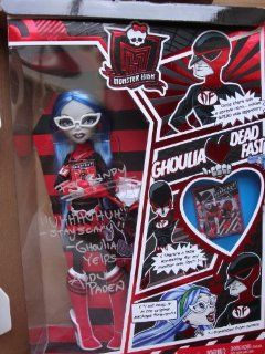 Monster High SDCC 2011 San Diego ComicCon Exclusive Action Figure Doll Ghoulia Yelps Toys & Games
