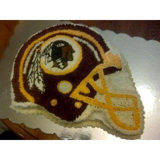 NFL Washington Redskins Fan Cakes Heat Resistant CPET Plastic Cake Pan Sports & Outdoors