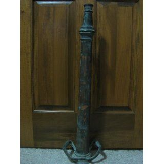 "Antique Fire Hose Nozzle (30"" Brass & Copper)"