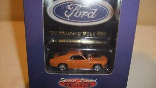 Hot Wheels Collectibles   Special Limited Edition   Hot Rod Magazine Street Machines   Series 1 (#4 of 4)   Ford   '70 Mustang Boss 429 (Pinkish Orange) Toys & Games