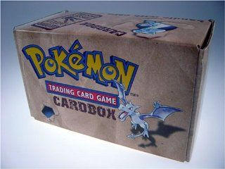 Pokemon Trading Card Official Storage Card box (Deck Box)Fossil Edition Toys & Games