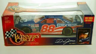 1997   Kenner   NASCAR   Winner's Circle   Stock Car Series   Dale Jarrett #88   124 Scale Die Cast   Ford Thunderbird   Limited Edition   Collectible Toys & Games