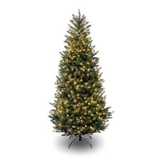 National Tree Co. Natural Fraser 7 6 Green Slim Fir Artificial