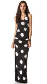 Young Fabulous & Broke Mel Maxi Polka Dot Dress