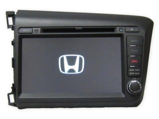"Honda Civic 2012+ OEM Replacement In Dash Double Din 8"" LCD Touch Screen GPS Navigation Bluetooth CD/DVD Player Multimedia Radio"