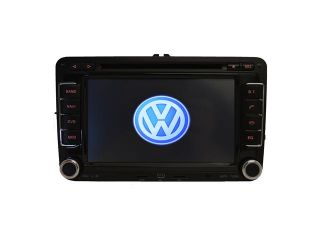 Volkswagen Jetta 2005 2013 K Series In Dash Double Din 7 Inch LCD Touch Screen AM/FM DVD IPOD AUX SD USB GPS NAVIGATION