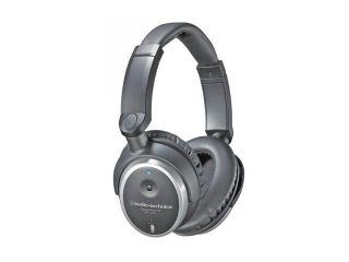Audio Technica ATH ANC7 3.5mm/ 6.3mm Connector Circumaural QuietPoint Active Noise Cancelling Headphone