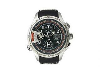 Hamilton Khaki Aviation X Copter Automatic Black Dial Men's Watch #H76616333