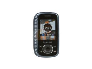Samsung Gray Unlocked GSM Slider Phone with Full QWERTY Keyboard / 2MP Camera / Mobile Tracke (B3310)