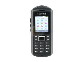 Samsung B2100 Black/Silver Unlocked GSM Bar Phone with Built in Flashlight & Waterproof