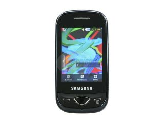 Samsung CorbyPlus Black unlocked GSM Slider Phone with Full QWERTY Keyboard (B3410)