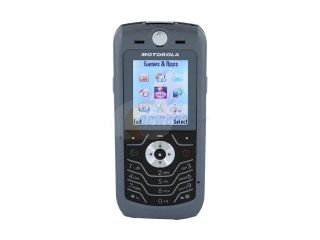 Motorola SLVR Gun Metal unlocked GSM Bar phone with stylish design (L6i)