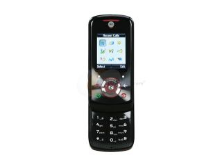 Motorola EM25 Black Unlocked GSM Slider Phone with 1.3MP Camera