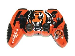 Mad Catz Officially Licensed Cincinnati Bengals NFL Wireless PS2 Controller