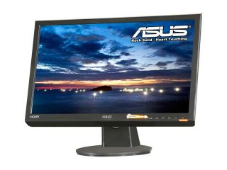 "ASUS VH222H Black 21.5"" 5ms HDMI Widescreen 16:9 Full HD 1080P LCD Monitor Built in Speakers 300 cd/m2 1000:1 (ASCR20000:1) w/ SPDIF out"