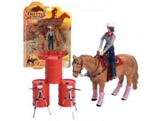 Schylling Toys Rodeo Champions Barrel Racing Play Set
