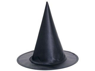Girls Satin Witch Hat   Halloween Costumes