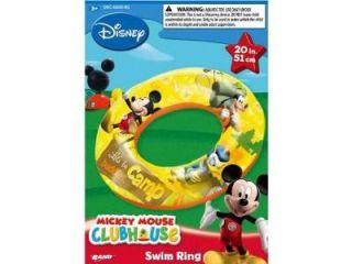 "Disney Mickey Mouse Clubhouse 20"" Inflatable Swim Ring"