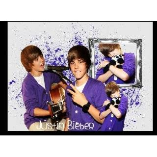 Unique JUSTIN BIEBER Laptop Skin Decal 2   Leather Look